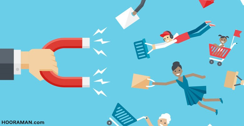 ایده برای جذب مشتریان